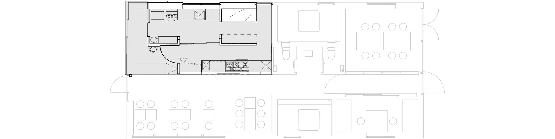 KITCHEN(キッチン)施設マップ