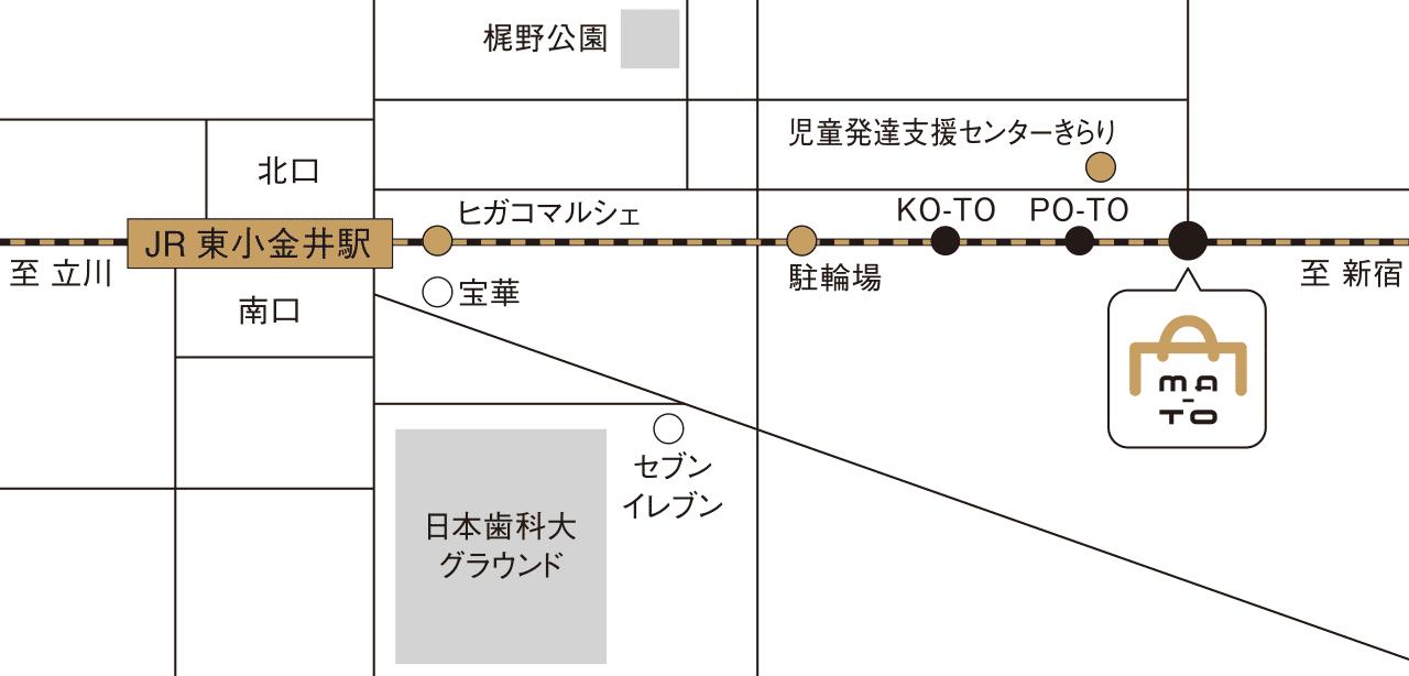 MA-TO(マート)アクセスマップ